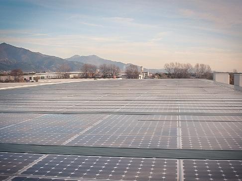Fotovoltaico integrato 70KW.