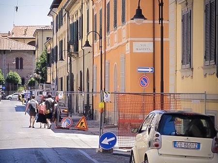 Illumimazione pubblica nel comune di Pisa