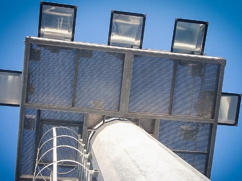 Illuminazione torre PEL portuale.