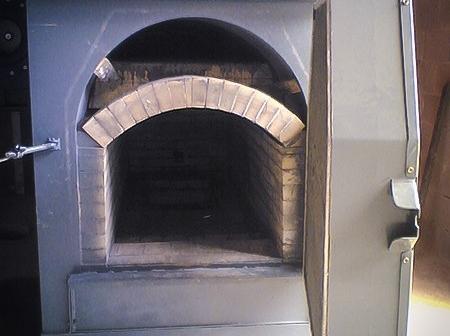 Posizionamento caldaia a cippato.