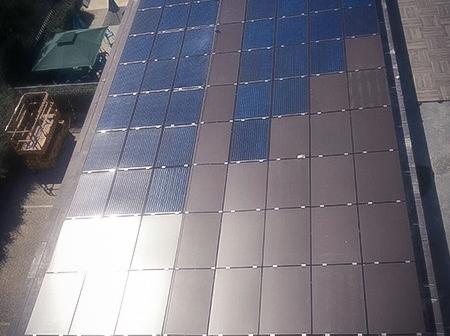 Impianto fotovoltaico vetroceramico, Sede Autorità Portuale.